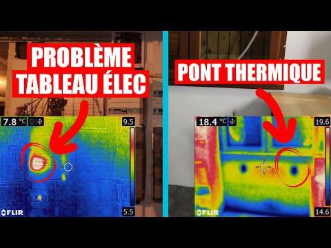 Tests avec la caméra FLIR E5 - LPDMP #62 Bonus