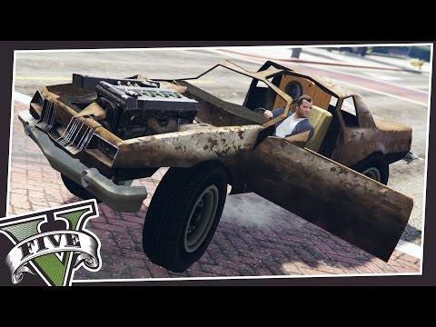 DRIVE SCRAP VEHICLES IN GTA 5!