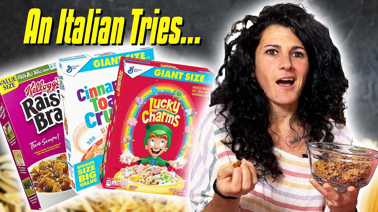 An Italian Tries AMERICAN BREAKFAST CEREAL