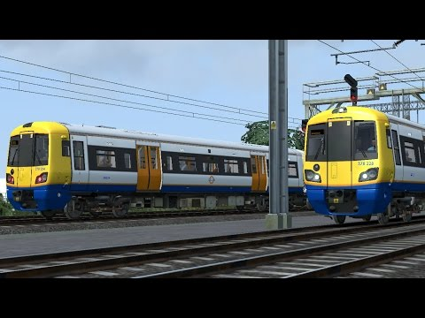 train simulator 2016 North London line