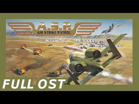 A.S.P.: Air Strike Patrol OST (SNES) ▶【Oscilloscope View】