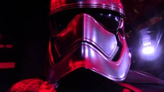 NEW Meet and Greet with TALKING Captain Phasma from Star Wars The Force Awakens Disney Cruise