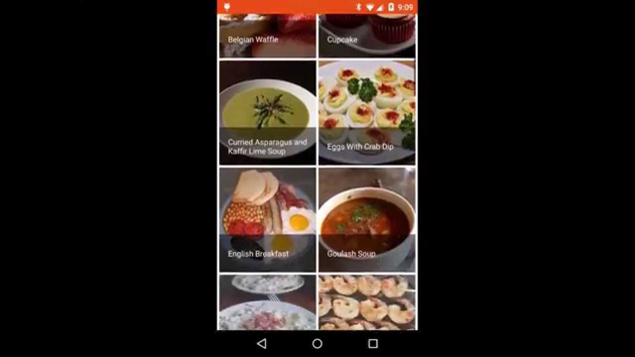 Cookbook Recipe App For Android Preview Youtube