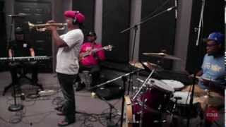 """Kermit Ruffins """"When the Saints Go Marching In"""" Live at KDHX 7/25/13"""