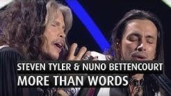 "Steven Tyler & Nuno Bettencourt ""More than words""  - The 2014 Nobel Peace Prize Concert"