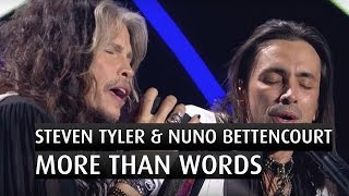 """Download Steven Tyler & Nuno Bettencourt """"More than words""""  - The 2014 Nobel Peace Prize Concert"""