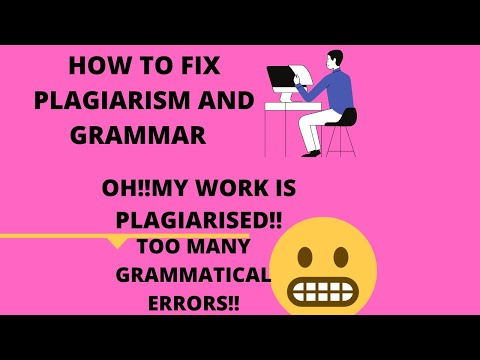 ACADEMIC WRITING-THIS IS HOW YOU CHECK PLAGIARISM AND GRAMMAR...(LESSON 2)..#CAREY`S THOUGHTS...