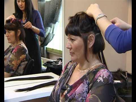 сюжет наращивание волос