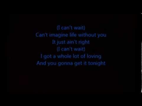 Akon-I can't wait Lyrics