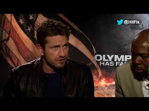 Olympus Has Fallen - Gerard Butler & Antoine Fuqua Interview