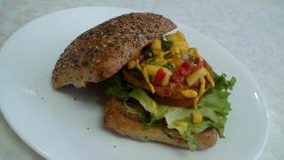 Ciabatta Bread Rolls Sandwich - Video Recipe by Bhavna