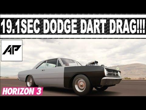 Forza Horizon 3 / Dodge Dart Super Stock Drag Tune / 19.1Sec / AWD / Best Drag Car