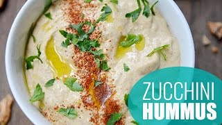 How To Make Zucchini Hummus | No-bean Hummus Recipe