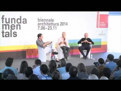 Biennale Architettura 2014 - Conversazioni / Talks (Architecture and Technology)