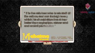 Video Mahatma Ghandi Quotes   Voice Government Article Liberty & Religion download MP3, 3GP, MP4, WEBM, AVI, FLV Oktober 2018
