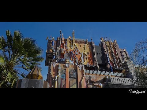 WEEKLY VIDEO 44 - GUARDIANS OF THE GALAXY: MISSION BREAKOUT ON RIDE POV