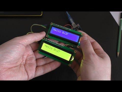Секреты подключения нескольких LCD экранов к Arduino по I2C