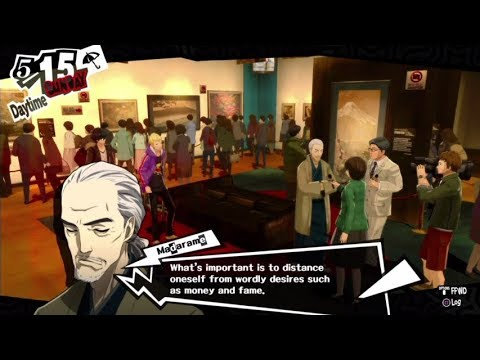 Let's Play Persona 5 Episode 29: Mask of an Artist