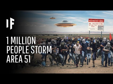 What Happens If One Million People Actually Stormed Area 51?