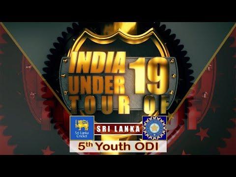 Sri Lanka U19 vs India U19, 5th Youth ODI