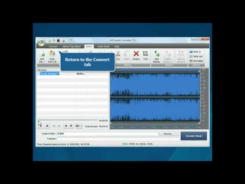 How to create iPhone ringtone using AVS Audio Converter?