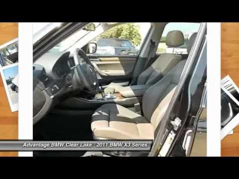 2011 BMW X3 Series at Advantage BMW Clear Lake BL702124