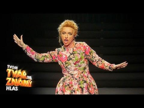 Tatiana Vilhelmová jako Adele - Send My Love | Tvoje tvář má známý hlas