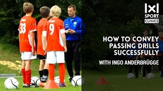 Part 1:  How to convey passing drills successfully