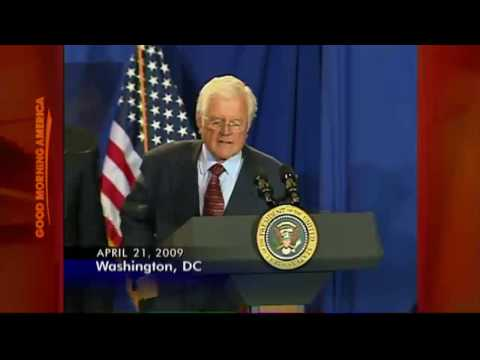 Ted Kennedy: the 'Lion of the Senate'