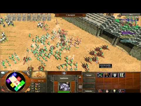 Age of Empires 3 : Une petite partie Coliseum en multi avec Kuelo