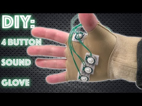 DIY Cosplay Sound Glove