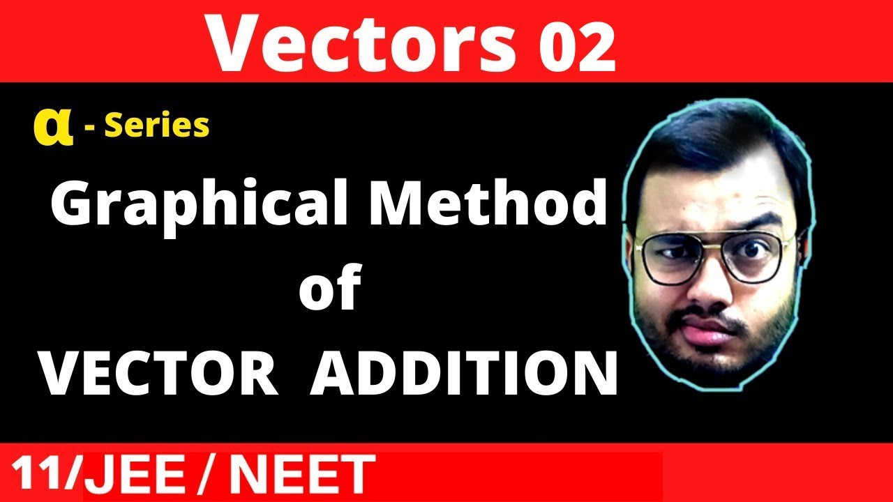 Vectors 02 : Graphical Method of Vector Addition || Understanding Triangle Law and Parallelogram Law