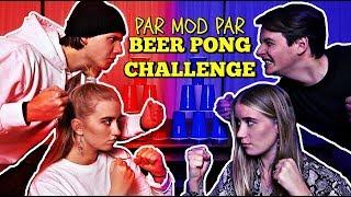 PAR VS PAR - BEER PONG CHALLENGE! m. Josefine Simone og Rebecca Charlotte Dahl