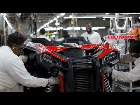 Honda Talon Side-by-Side Production at Honda of South Carolina