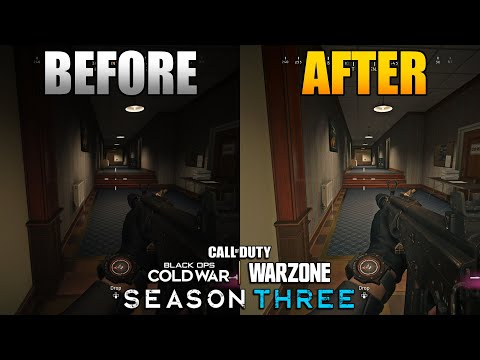 New Graphic & NVIDIA Settings Warzone Season 3   Settings I Use to Make it Look Better 1.36 Update