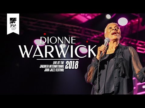"Dionne Warwick ""I'll Never Love This Way Again"" Live at Java Jazz Festival 2018"