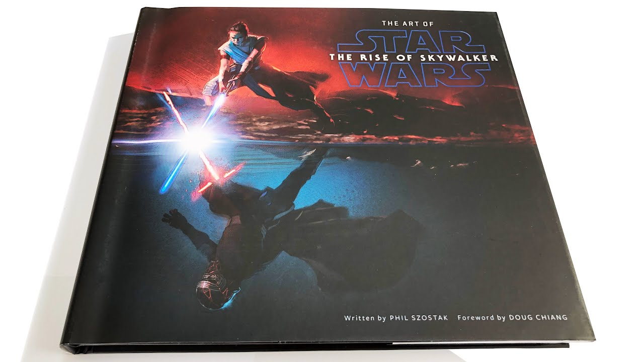 The Art Of Star Wars The Rise Of Skywalker 4k Art Book Video Feature Youtube