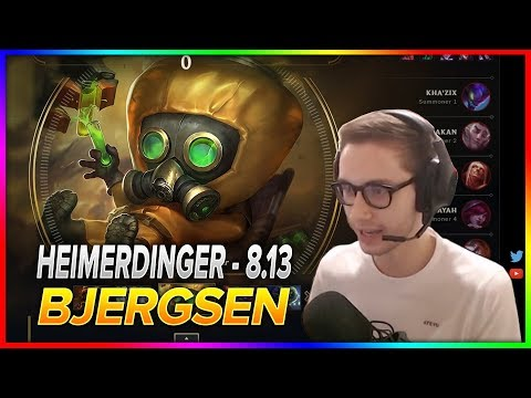 711. Bjergsen - Heimerdinger vs Vladimir - Mid - S8 Patch 8.13 NA Challenger - July 9th, 2018
