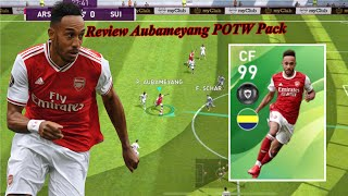 Review Faster & Finisher CF 99 Rating AUBAMEYANG - Pes 2020 Mobile