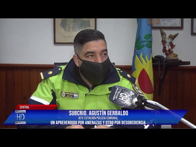 SubCrio Gerbaldo Aprehendidos   Permiso de Circulación