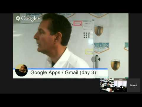 Larson Training Centers (Las Vegas) Google Apps / Contacts & Events (day 3)