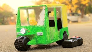 How to Make a Rickshaw - Auto Rickshaw