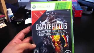 XBOX 360 - Battlefield 3 - Limited Edition -Unboxing!!