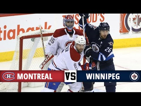 Montreal Canadiens vs Winnipeg Jets | Season Game 42 | Highlights (11/1/17)