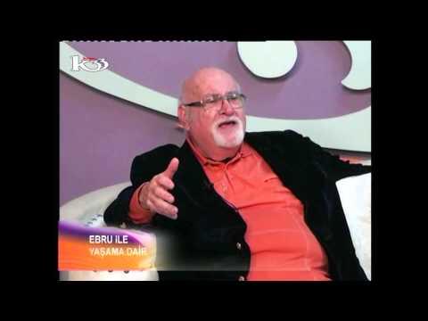 Yazar H. Erroll Gelardin kanal 33 ekranlarında Ebru İle Yaşama Dair programının konuğu