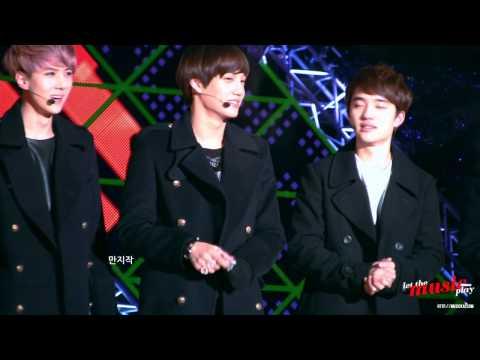 "121231 MBC 가요대제전 KAI ""Happy New Year!"""