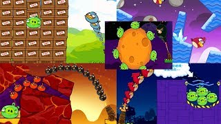 Angry Birds Cannon 4 - PASS 124 LEVELS,  WITH 5 MODES, AND 5 MAPS !