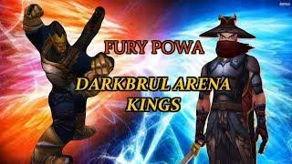 Fury War WoW 8.0 - KINGS OF DARKBRUL ARENA!