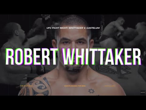 Robert Whittaker Breakdown: Karate Boxing for MMA