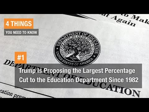 How Would Trump's K-12 Spending Plan Affect Schools?